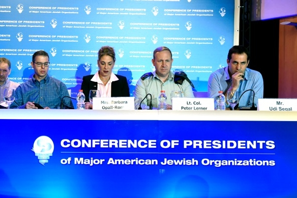 Conference of Presidents of Major Jewish Organizations -  Feb 2016
