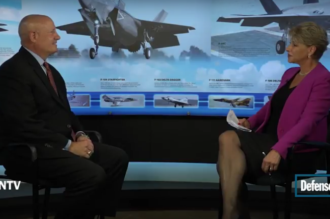 Lockheed Martin's Jack Crisler talks to me about Israeli F-35 - Dec 13, 2016
