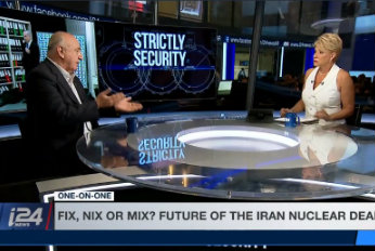 Think Tank Central on May 12 deadline for Iran nuclear deal; main interview on Netanyahu's presentation of secret Atomic Archives; Last Word on Israeli Chutzpah in the age of Trump<br> May 5, 2018.