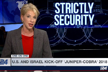 Interview with US and Israeli commanders of the joint Juniper Cobra air and missile defense drill.<br> March 2018