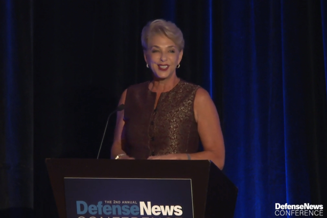 My farewell address to the Defense News Conference, September 2018